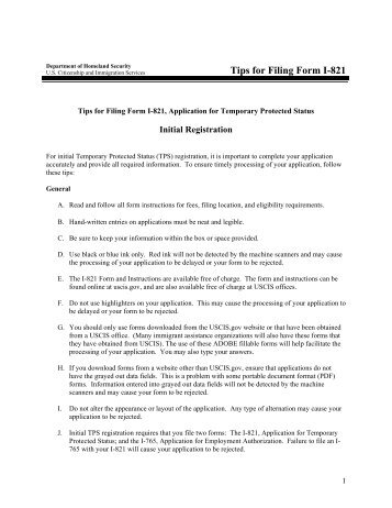 Instructions for Filing Form I-765 with the USCIS - Lawrence ...