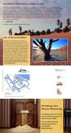 Programmflyer zum Bonner Wüstentag am 10 ... - desertifikation.de