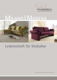 MILANO|MODENA - Wolkenweich Polster-Manufaktur GmbH