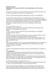 1 Reinhard Neumann Manuskript zum Vortrag am 24.02.06 vor der ...