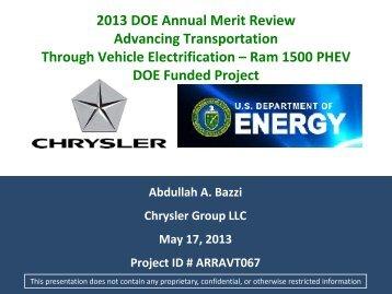 Phase II - Department of Energy