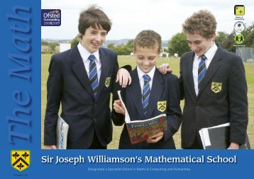 The Math - Sir Joseph Williamson's Mathematical School