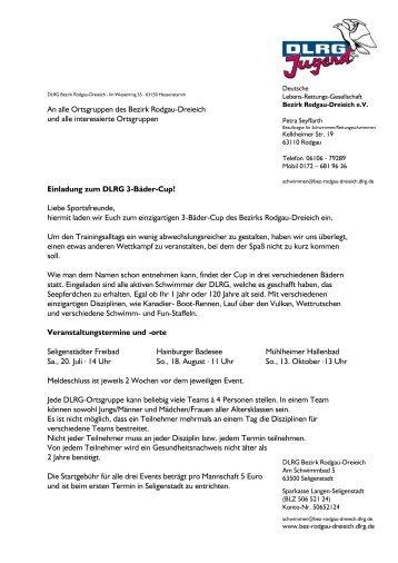 3-Bäder-Cup - DLRG Ortsgruppe Seligenstadt