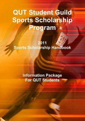 QUT Sports-Scholarship-Handbook - Australian University Sport