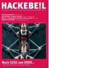 hackebe!l - Bessel-Ruder-Club eV Minden