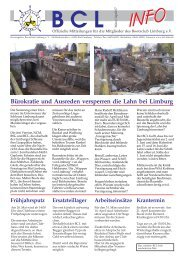Mai/Juni 2007 - Lahn, BCL Bootsclub Limburg e.V.