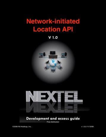NII LBS Network Initiated Developer Guide - NII Developer Program