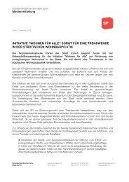 MM_Lancierung Wohnungen für alle.pdf - SP Stadt Zürich