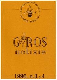 GirosNotizie 3-4 - GIROS - Gruppo Italiano per la Ricerca sulle ...