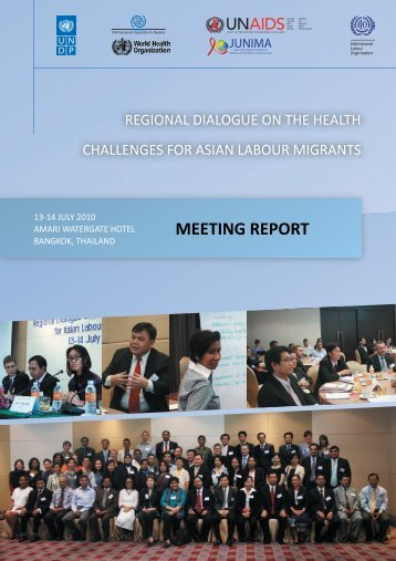 Regional Dialogue on the Health Challenges for Asian Labour ...