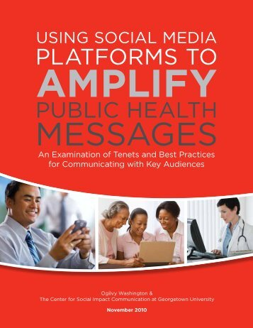 Using Social Media Platforms to Amplify Public Health Messages