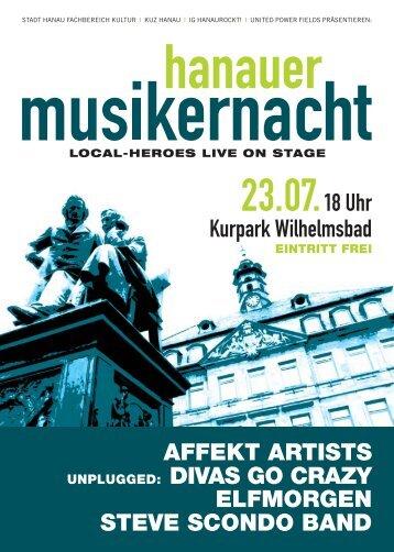Musikernacht 2010 Flyer A6:Musikernacht 2008 Flyer ... - MomenteMa