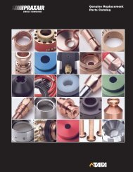 Spare Parts brochure - Praxair Surface Technologies
