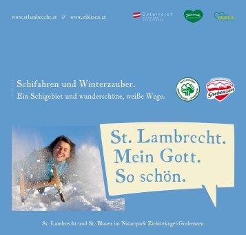 Winterfolder St. Lambrecht - Austria Trend Hotels