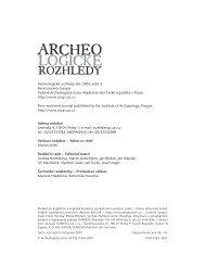 2001_3 - Archeologický ústav AV ČR