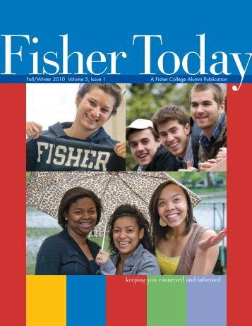 Fall/Winter 2010 - Fisher College