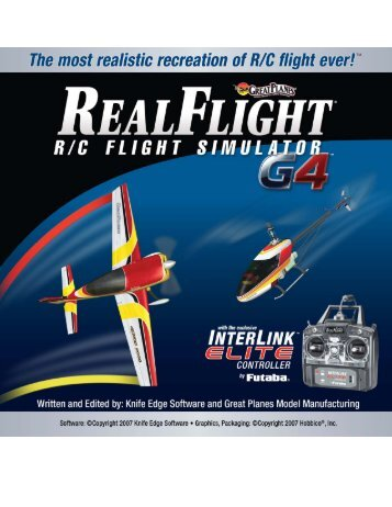 RealFlight G4 Manual (12.2 MB) - Knife Edge Software