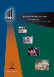 Research results in action 2000 - CRC Association