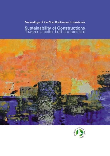 Sustainability of Constructions - Towards a Better Built Environment