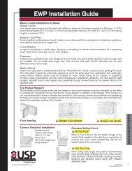 EWP Installation Guide - USP Connectors