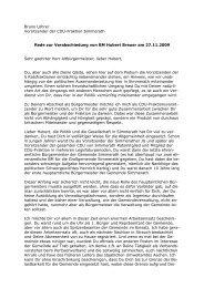 Abschied von Bürgermeister Hubert Breuer - bei dem CDU ...