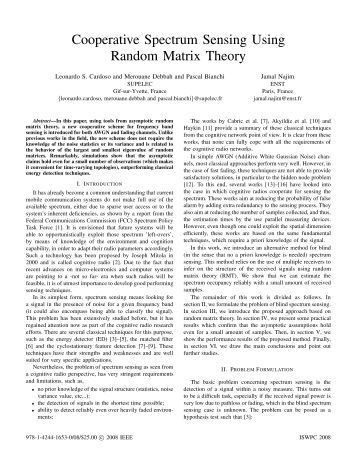 r andom matrix methods for wireless communications couillet romain debbah mrouane