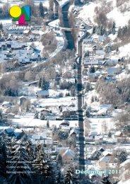Décembre 2011 - Allemont
