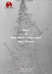 Buses & Matériels de Pulvérisation Eau / Mousse