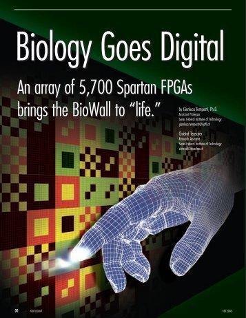 Biology Goes Digital - Teuscher