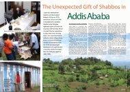 Addis Ababa - Halachic Adventures