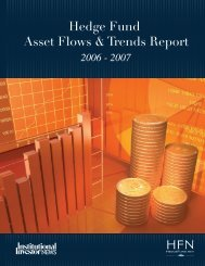 Hedge Fund Asset Flows & Trends Report - Euromoney Institutional ...