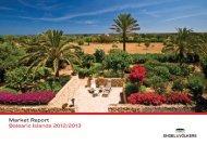 Informe del mercado de Engel & Völkers Baleares 2012/2013