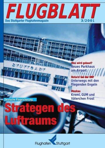 Ausgabe 3/01 - Flughafen Stuttgart