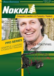 Nokka Loaders & Trailers Pro Series Brochure