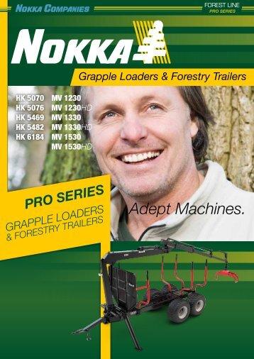 Nokka Loaders & Trailers Pro Series Brochure