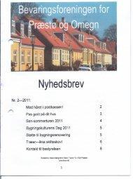 2011-2 - Bevaringsforeningen for Præstø og omegn
