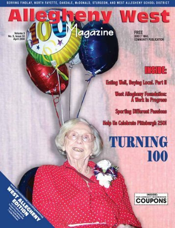April 2008 - Allegheny West Magazine