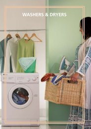 washErs & dryErs - Wansa
