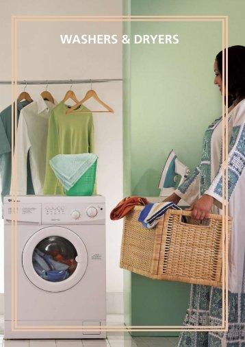 washErs & dryErs - Wansa