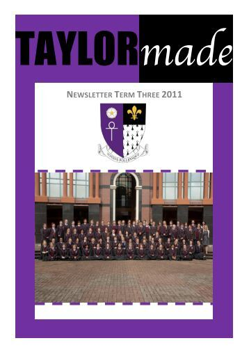NEWSLETTER TERM THREE 2011 - King's College