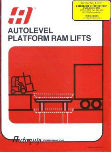 Vertical Ram Lift Full Catalog - J. Herbert Corporation