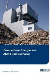 Erneuerbare Energie aus Abfall und Biomasse - STEAG