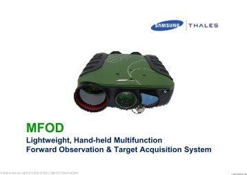 Lightweight, Hand-held Multifunction Forward ... - America Nexus