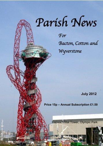 Parish News - Cotton Parish