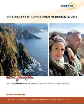 Reisewelt50plus - Reisebuch