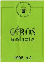 GirosNotizie 2 - GIROS - Gruppo Italiano per la Ricerca sulle ...