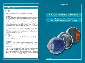 Booklet - Georg Eisner, Ophthalmologie
