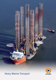 Heavy Marine Transport - Dockwise