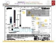 IRIDIUM/GPS Antenna, P/N: 0.5R1216P-XTM-4 - ppm GmbH