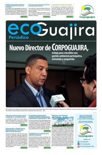 Nuevo Director de CORPOGUAJIRA,